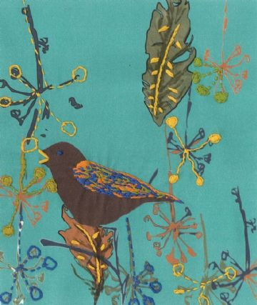 DMC Song Bird Printed Embroidery Kit TB100